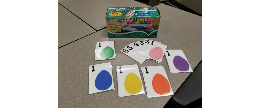 colorful game cards
