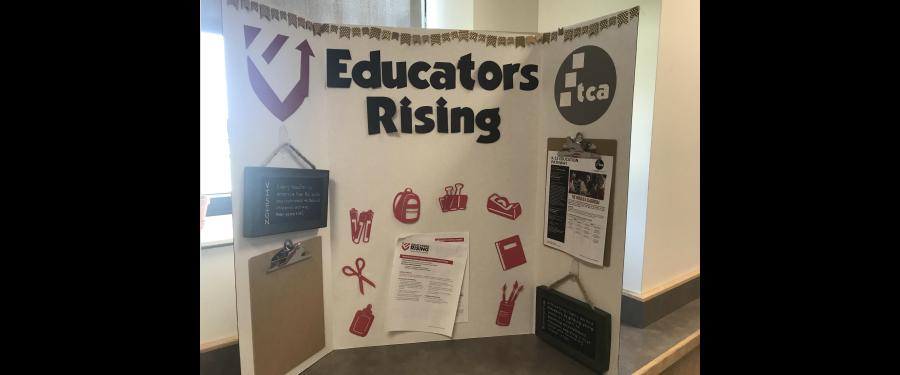 Educators rising poster