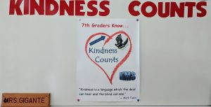 Kindness Counts sample poster